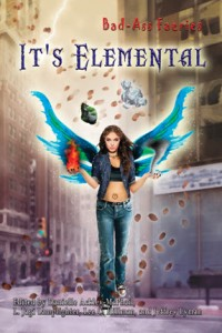 The cover of the upcoming Bad-Ass Faeries #4: It's Elemental.